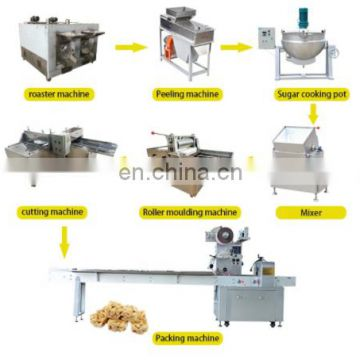 Stainless Steel Factory Price Chocolate Cereal Bar Production Line / Candy Bar Making Machine / Puffed Rice Bar Production Line