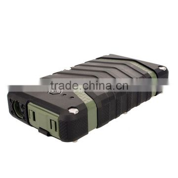 NEW automatic battery charger,led torch light portable power bank 18000mah