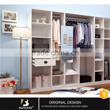 Cabinet Buy Wooden Almirah Designs Wardrobe With Mirror With Hanging Clothes Bedroom Furniture On China Suppliers Mobile 112239117