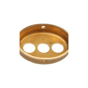 Professional High Quality OEM Polishing Brass Stamping Parts Brass Housings Brass Caps Manufacturer OEM Stamping Punching Brass Housing Manufactures