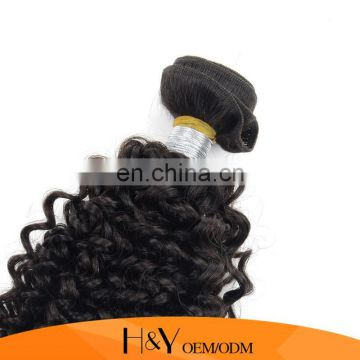 Unprocessed Indian Virgin Hair Afro Kinky Curly Human Hair Extension 100% Human Hair Grade 8A From HY Factory Outlet