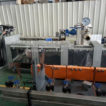 JS36 twin screw test extrusion line