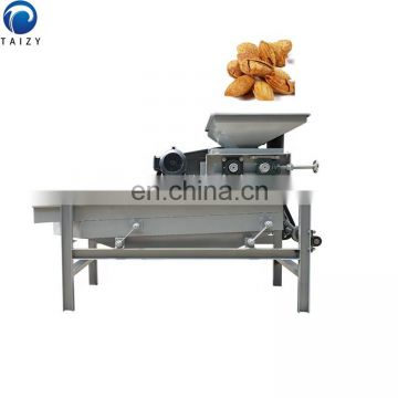 Taizy automatic walnut almond nut shell cracker separating machine