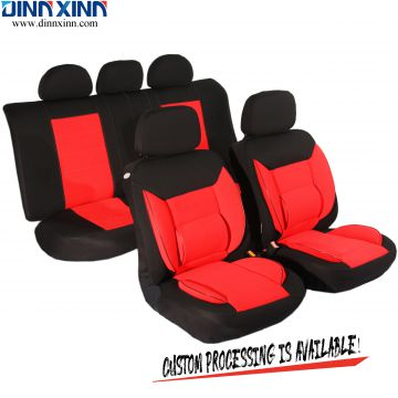 DinnXinn Toyota 9 pcs full set Genuine Leather fancy car seat cover supplier China