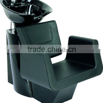 salon equipment; washing hair chair with fiberglass and ceramic