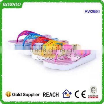 custom summer cheap women flip flops factory in china