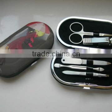 High quality 5 in 1mini manicure set in box household nail care kit