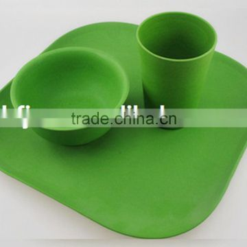 Burst sells Degradable bamboo fiber eco friendly kitchenware dishes