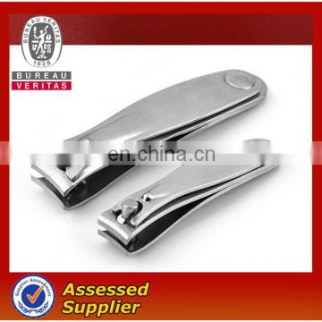 stainless steel nail clipper with custom laser logo