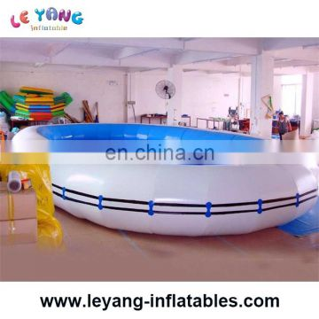 Inflatable water park/ backyard plastic swimming pool for family