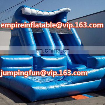 Fashion design inflatable medium size slide with good price ID-SLM026