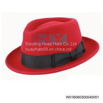 Wool Felt Fedora Hats