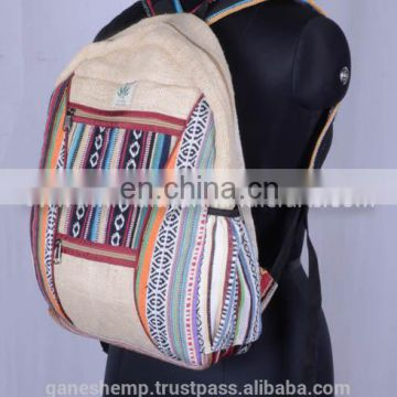 Casual Hemp Backpack HBBH 0013
