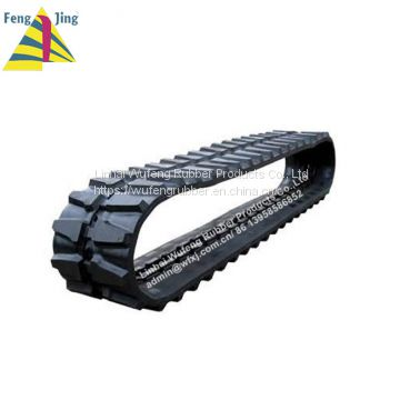 Rubber track for Excavators and Skid Steers