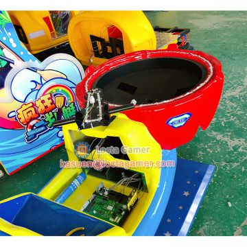 Zhongshan amusement kiddie ride for kids Space Flight Rocking Machine car