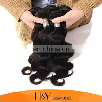 Natural Color Brazilian Human Hair Body Wave Hair Extension Wholesale Factory Price