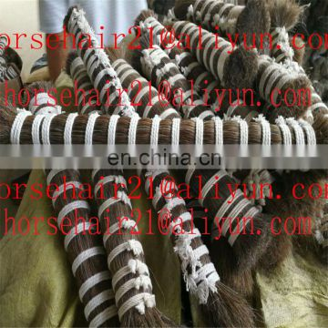 Fine quality horse hair and buy natural horse hair