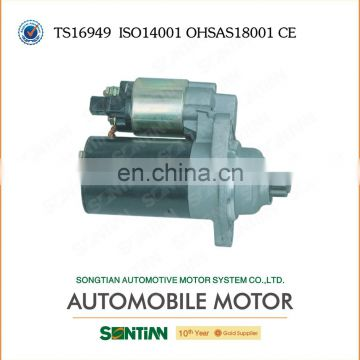 China High Performance 12V dc Electric Engine Starter Motor Specification For VW Bora, Golf, New Beetle 02A 911 023L