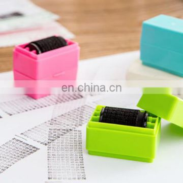 Office Express Pack ID Identity Self Information Protector Roller Stamp