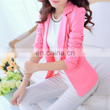 New Summer fancy Suits Seven Short Sleeved Casual Jacket Women blazer