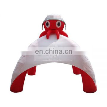 inflatable lawn tent inflatable advertising spider tent for sale