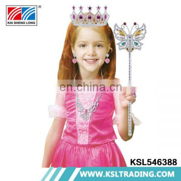 Beautiful pink children party cosplay dress princess costume
