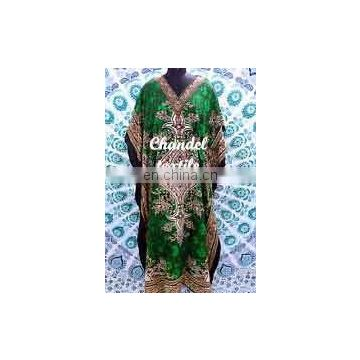 Long Kaftan dress Hippy Boho Maxi, Plus Size Women Caftan Tunic Dress Night Gown Caftan long Dress printed women wear