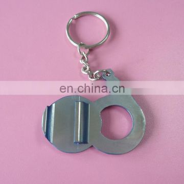 60th Anniversary Year Bank Logo Metal Bottle Opener Keychains