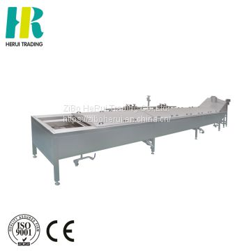 Vegetable and fruit blanching machine precooked potatoes
