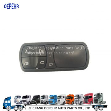 Zhejiang Depehr Heavy Duty European Tractor Window Lifter Switch Benz Truck Power Window Swith 9438200197