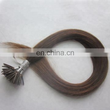 factory good human hair keratin tip stick hair extensions