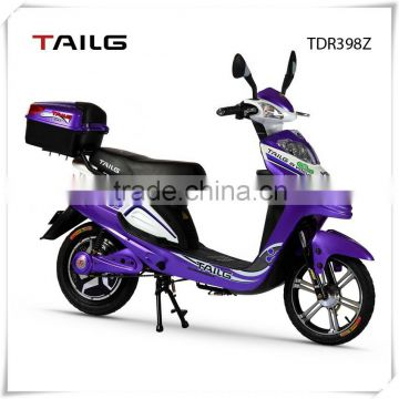 350W 48V lead-acid battery electric moped scooter with cheap price