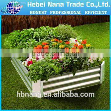 Australia new design stainless steel planter box / garden raised bed on