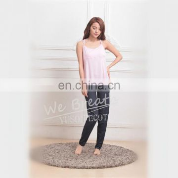 Ladies Seamless Bamboo Summer Breathable Sleepwear CAMI Top