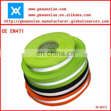 reflective webbing belt , reflective caution tape ,reflective warning tape