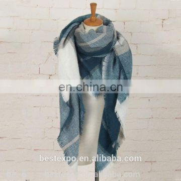 313987162 china factory women fashionable plaid shawl cashmere tartan square scarf of  08.Acrylic & Cashmere Scarfs from China Suppliers - 157629816