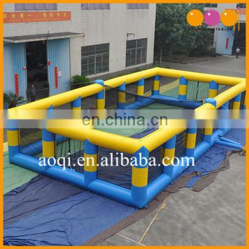 cheap price beach toys inflatable volleyball court for sale