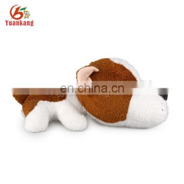 27cm custom OEM animal plush dog shape pencil case toy