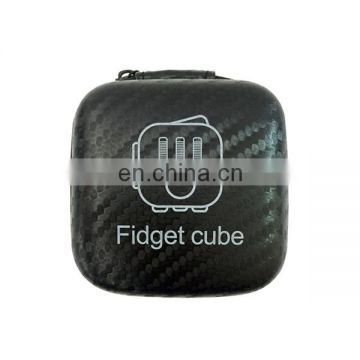 Finger games good design black fidget toys anti stress cube