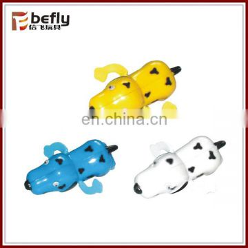 Cute swimming wind up dog toy