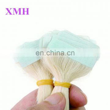 High quality Strong glue skin weft tape remy hair extensions