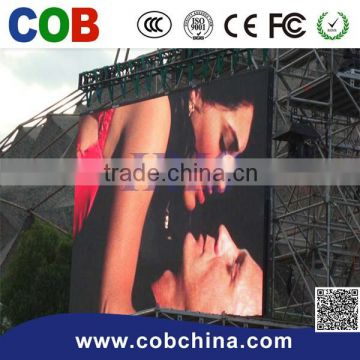 Die casting aluminum indoor /Outdoor rental led display screen P10 led video wall panel for indoor use