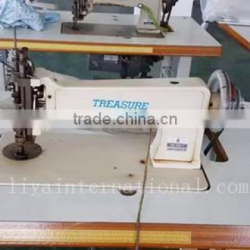 Treasure ES1114 2 Japanese Used Second Hand Handle Operated Chain Stitch  Embroidery Machine ...