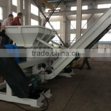High quality waste Plastic/ wood/double shaft shredder price