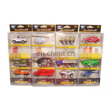 wholesale 1:64 scale free wheel diecast cars four style mixs