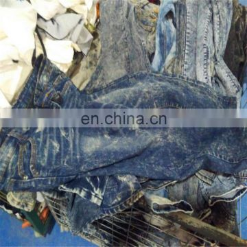 Hot Sale Used ladies jeans pants used men jeans pants used clothes Used jeans for sale