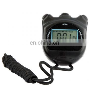 dropshipping PS50 Stopwatch Professional Chronograph Handheld Digital LCD Sports Counter Timer with Strap