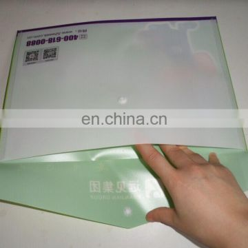 Clear A4 L Shape Folder / Name Card Slot Pocket