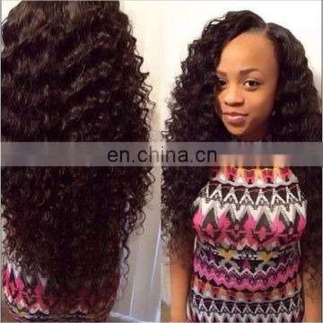 Deep Curl Best Selling High Quality Real Mink Brazilian Hair unprocessed wholesale virgin brazilian hair