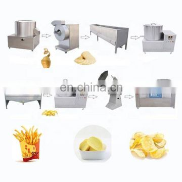 Frozen French Fries Processing Potato Chips Making Machine  potato chips machine price frozen potato production line